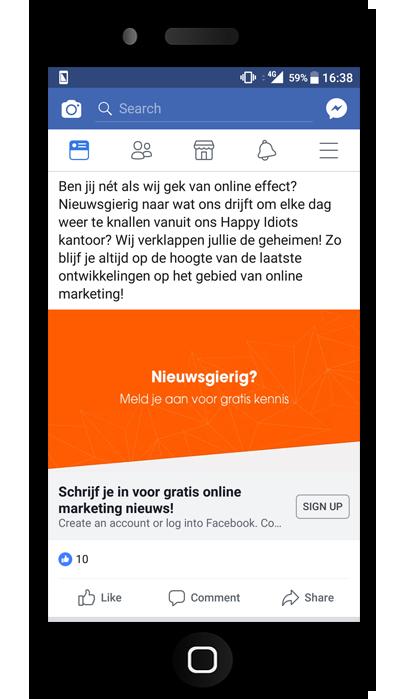 Social media adverteren