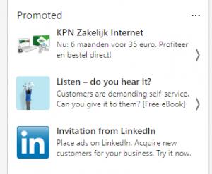 Adverteren kan makkelijk op LinkedIn. 5 voordelen van een LinkedIn bedrijfspagina