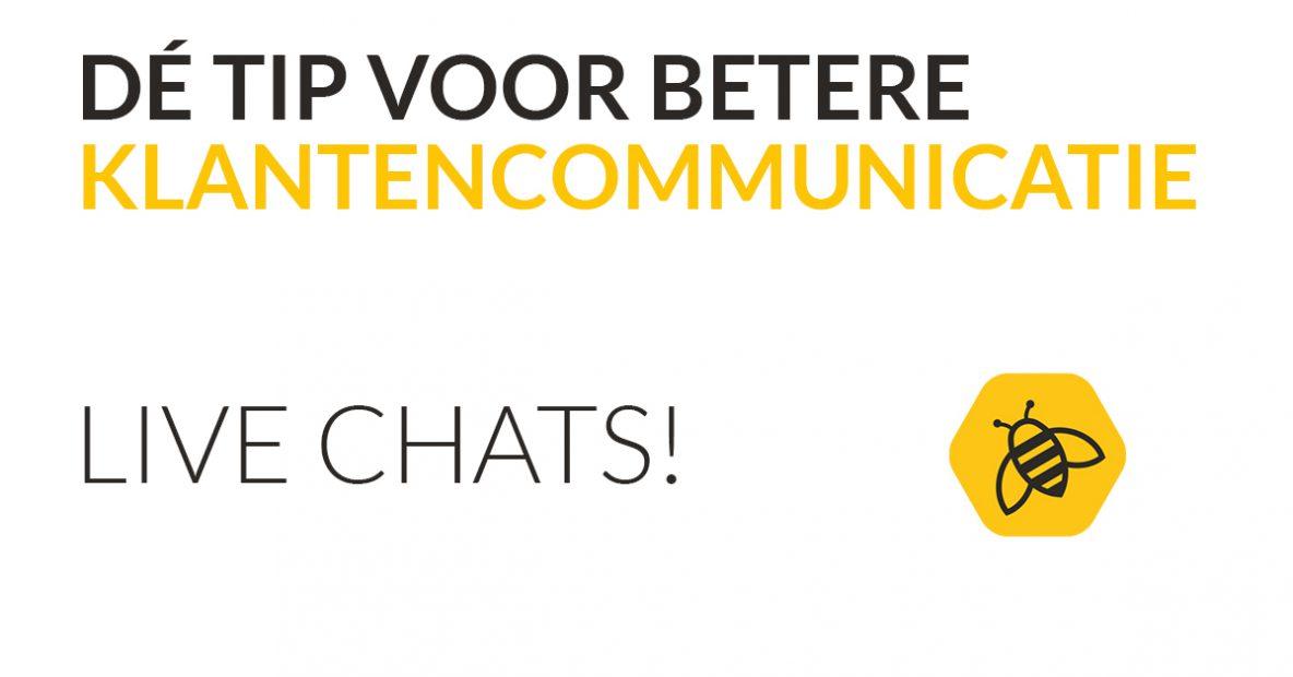 Dé tip voor betere klantencommunicatie Livechat